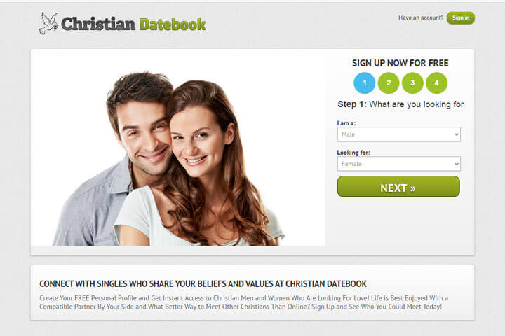 Christian Datebook homepage