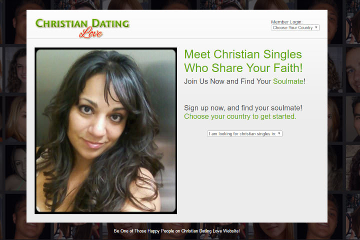 Christian Dating Love homepage