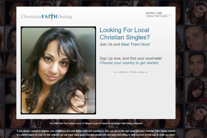 Christian Faith Dating homepage