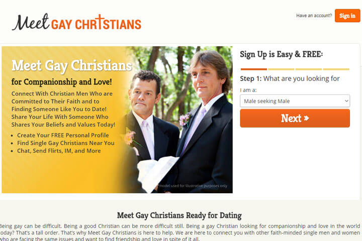 meet gay christians homepage