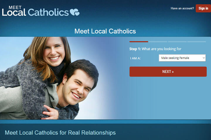 meet local catholics homepage